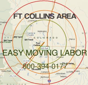 Ft Collins moving labor.