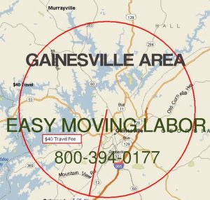 Gainesville Ga moving labor loading unloading.