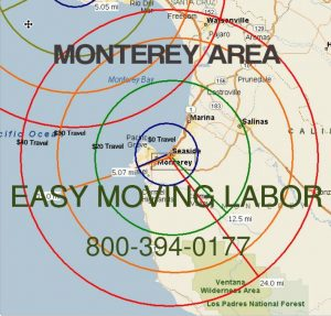 Monterey moving labor