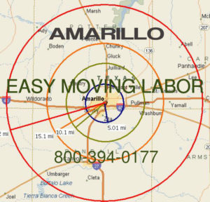 Hire local pro Amarillo moving help.