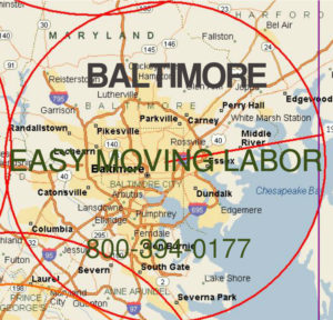 Hire pro moving help for service in Baltimore.