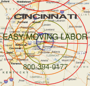 Hire local pro Cincinnati moving help.