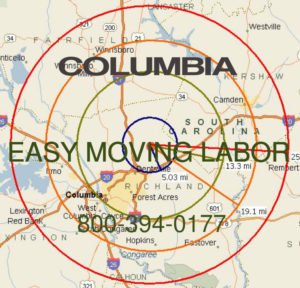 Hire local pro Columbia movers.