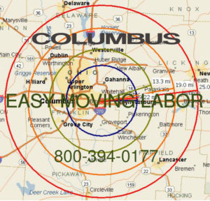 Hire local pro Columbus moving help.