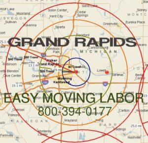 Local pro moving labor in Grand Rapids