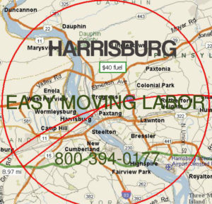 Hire pro Harrisburg moving help.