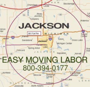 Local pro moving labor in Jackson MI.
