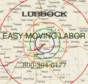 Hire local pro Lubbock moving help.