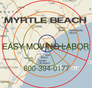 Hire local pro Myrtle Beach movers.