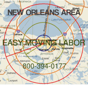 New Orleans Metro local pro moving labor.