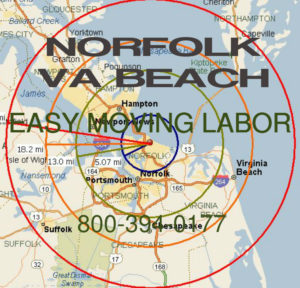 Hire local pro Norfolk moving help.