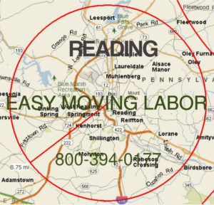 Hire pro moving help in Reading for your move.