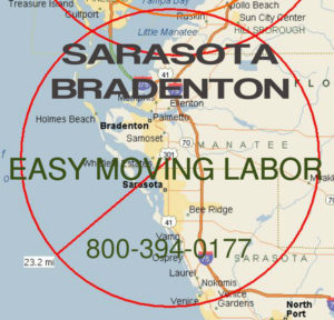 Hire pro local Sarasota moving help.