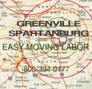 Hire local pro Greenville movers.