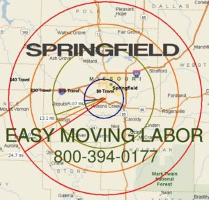 Local pro Springfield moving labor