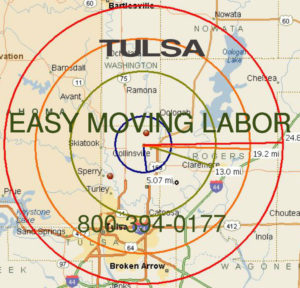 Hire local pro Tulsa moving help.