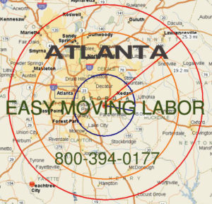 Hire pro Atlanta moving help to load and unload for your move.