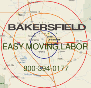 Hire local pro Bakersfield moving labor to load and unload your move.