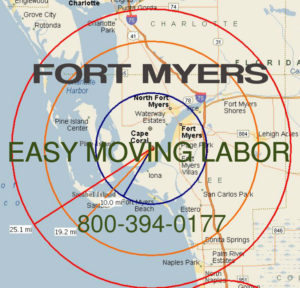 Hire pro Fort Myers moving help to load and unload for your move.