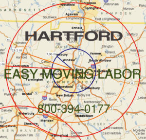 Hire pro Hartford moving help to load and unload for your move.