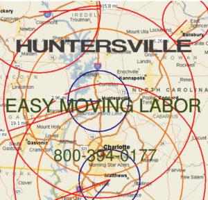 Hire local pro Huntersville moving help.