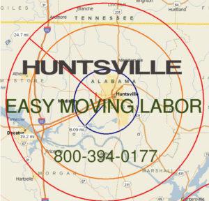 Pro local moving labor in Huntsville