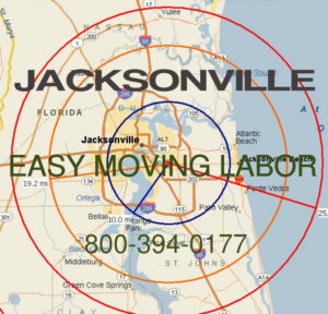 Hire pro Jacksonville moving help to load and unload for your move.