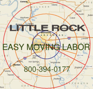 Hire Little Rock moving labor to help load and unload your truck.