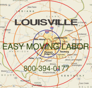 Hire pro Louisville moving help to load and unload for your move.