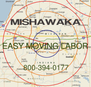Hire pro Mishawaka moving help to load and unload for your move.