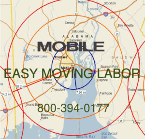 Hire Mobile moving help to load and unload.