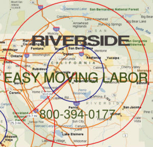 Hire pro Riverside and Moreno Valley moving help to load and unload for your move.