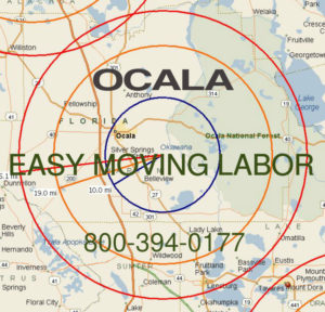 Hire pro Ocala moving help to load and unload for your move.