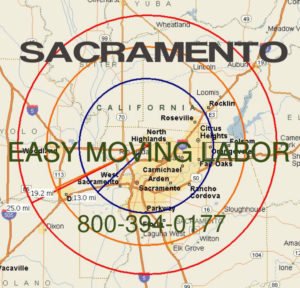 Hire pro Sacramento moving help to load and unload for your move.