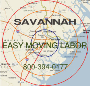 Hire pro Savannah moving help to load and unload for your move.
