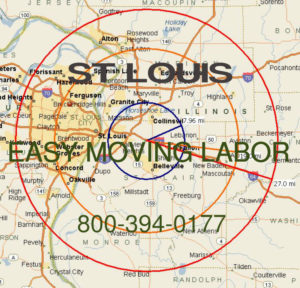 Hire pro St Louis moving help to load and unload for your move.