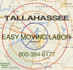 Hire pro Tallahassee moving help to load and unload for your move.