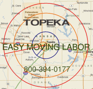 Hire pro Topeka moving help to load and unload for your move.