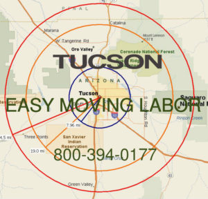 Hire pro Tucson moving labor to help with your move.