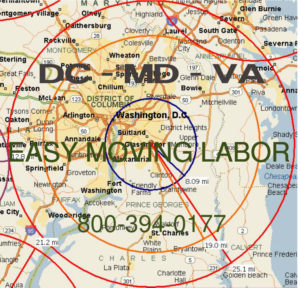 Hire pro DC moving help to load and unload for your move.