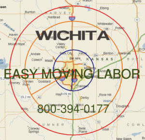 Hire pro Wichita moving help to load and unload for your move.