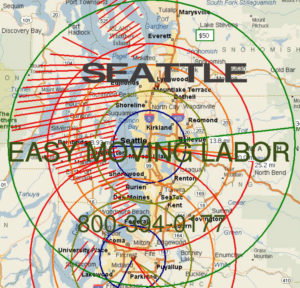 Hire pro Seattle help moving labor.
